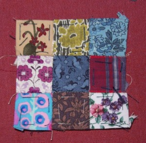 One inch patchwork