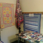 The refuge quilts corner at the September show.