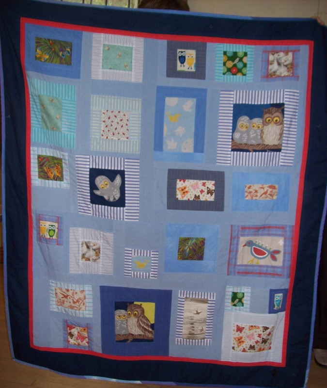 Quilts Handed Over To The Refuge May 2014 Chalford